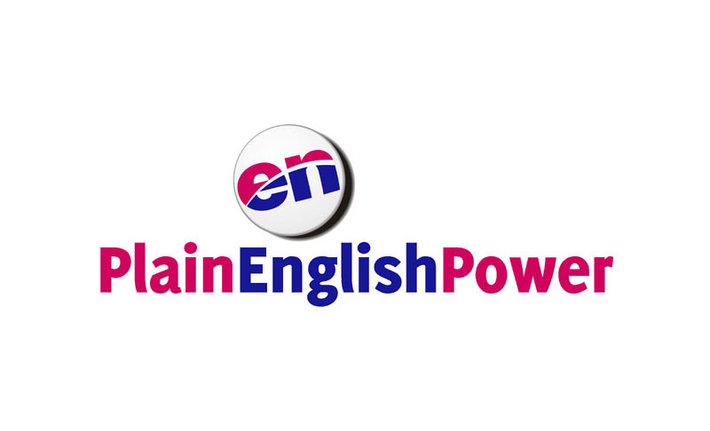 Plain English Power
