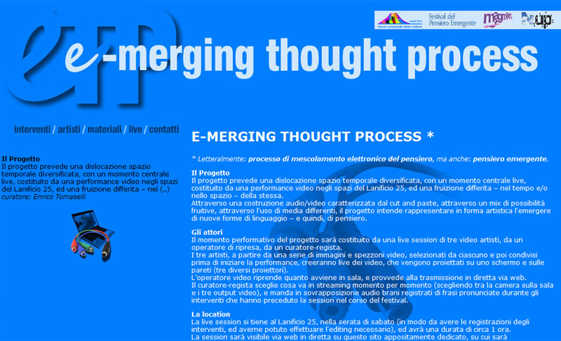 E-merging Thought Process
